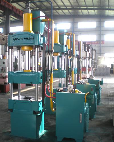 供应安徽大型液压机,ytd32-1250t四柱液压机,力福液压