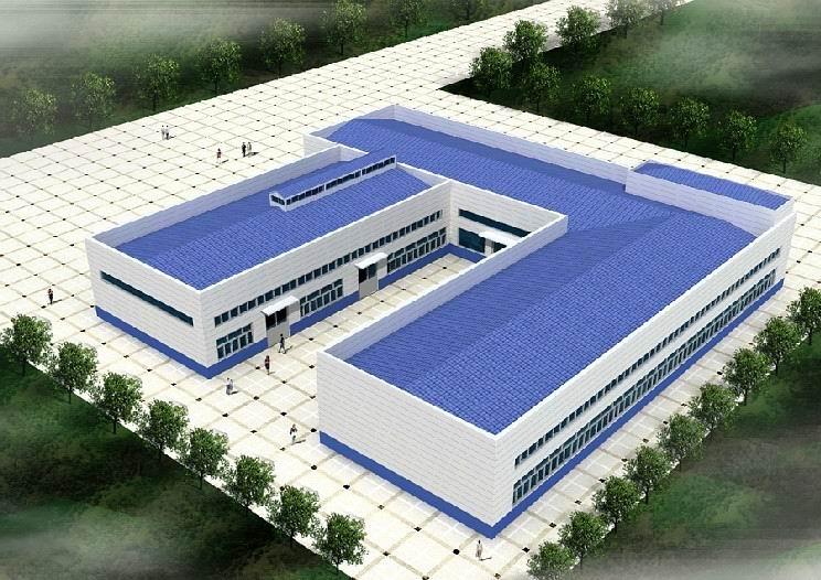 厂房外立面效果图设计,工厂外立面效果图设计,厂房外观效果图设计