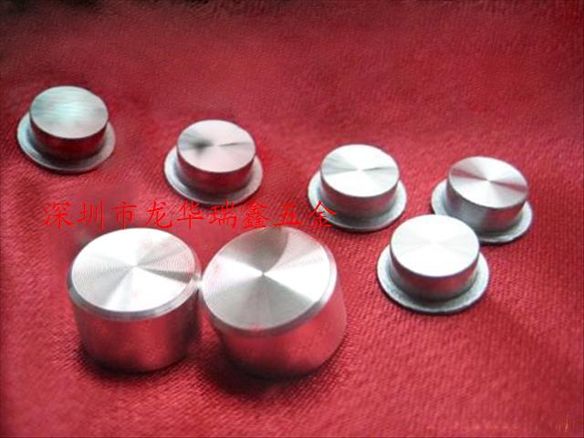 供应深圳铝按键CD纹加工 龙华 石岩 公明 观澜数控车床加工