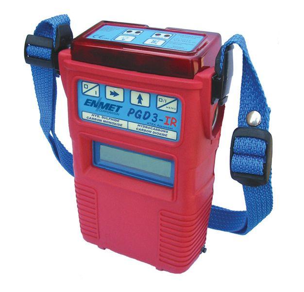 供应美国ENMET便携式多种有毒气体探测器