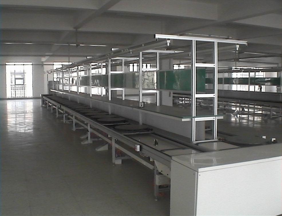 供應工裝板組裝流水線