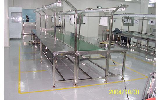 南京生產線不銹鋼支架皮帶流水線