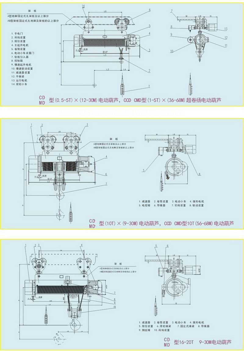 电动CD型0.5t-20t供应葫芦图纸在cad画表示泡沫怎么上图片