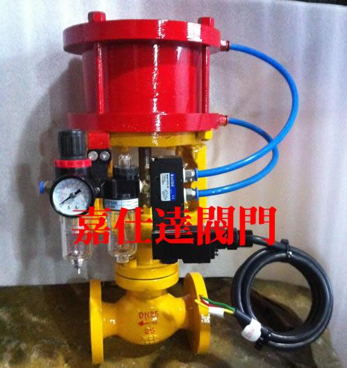 供应oqdq421f氨用电磁动紧急切断阀,燃气紧急切断阀,氨气切断阀 oqdq图片