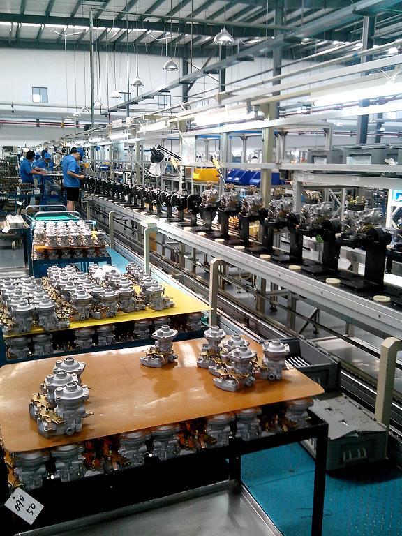 分配泵裝配生產流水線