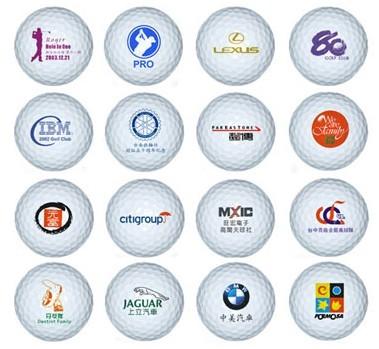 高尔夫球印刷加印logo印字 北京高尔夫球印刷厂