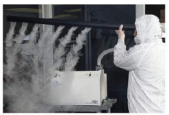 供应层流检测烟雾发生器水雾发生器SX-SG-1800纯水烟雾发生器
