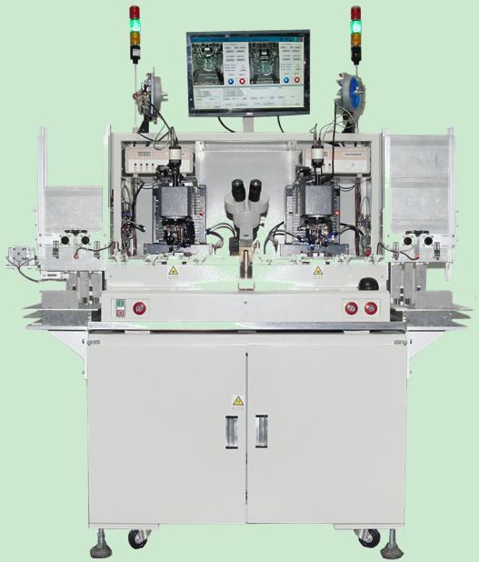 半导体焊接键合 厚模电路; 全自动粗铝丝压焊机cws3720(双头机)半导体