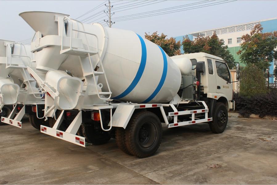 福田时代金刚3 4方水泥搅拌车哪里便宜 小型混凝土搅拌车图片参数 玉高清图片