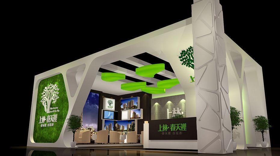 供应展览展示设计制作,特装展厅设计制作,展会布置,陈列厅设计制作图片