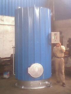 供應燃煤柴熱水爐