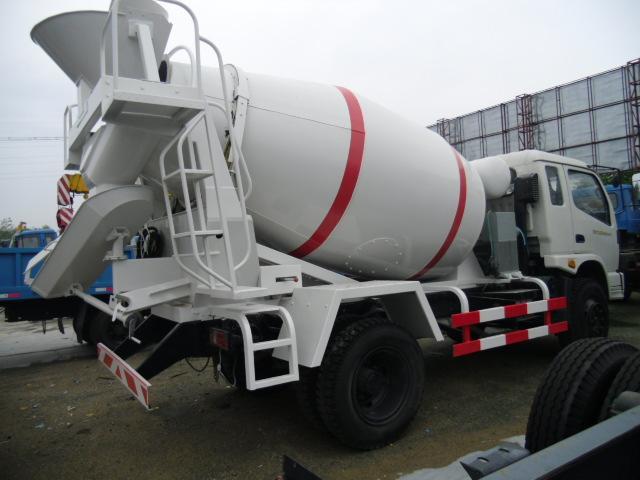 小型3-6方水泥搅拌车厂家报价价格价格