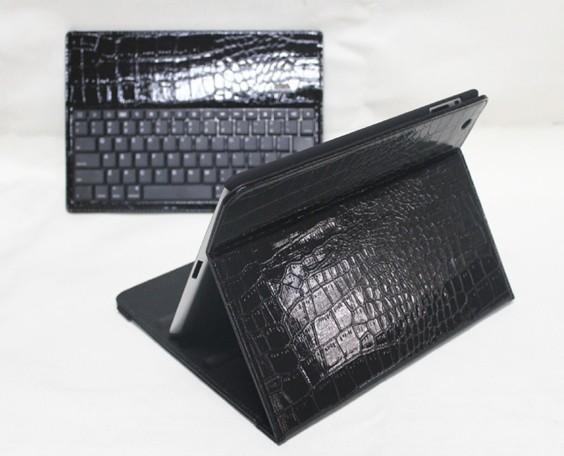 2013新款两折鳄鱼纹键盘皮套