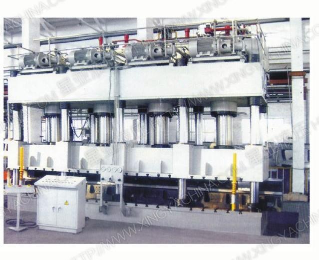 y128薄板冲压液压拉伸机-四柱液压机-星亚液压机