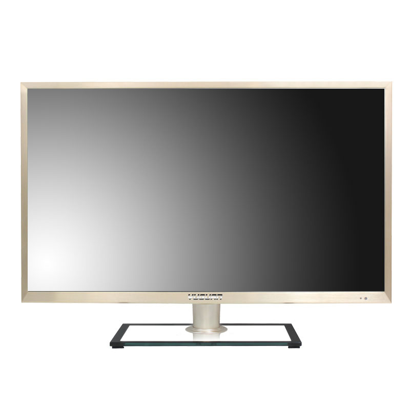 豫冠新品32寸 拉丝金属边框液晶平板电视/显示器高清