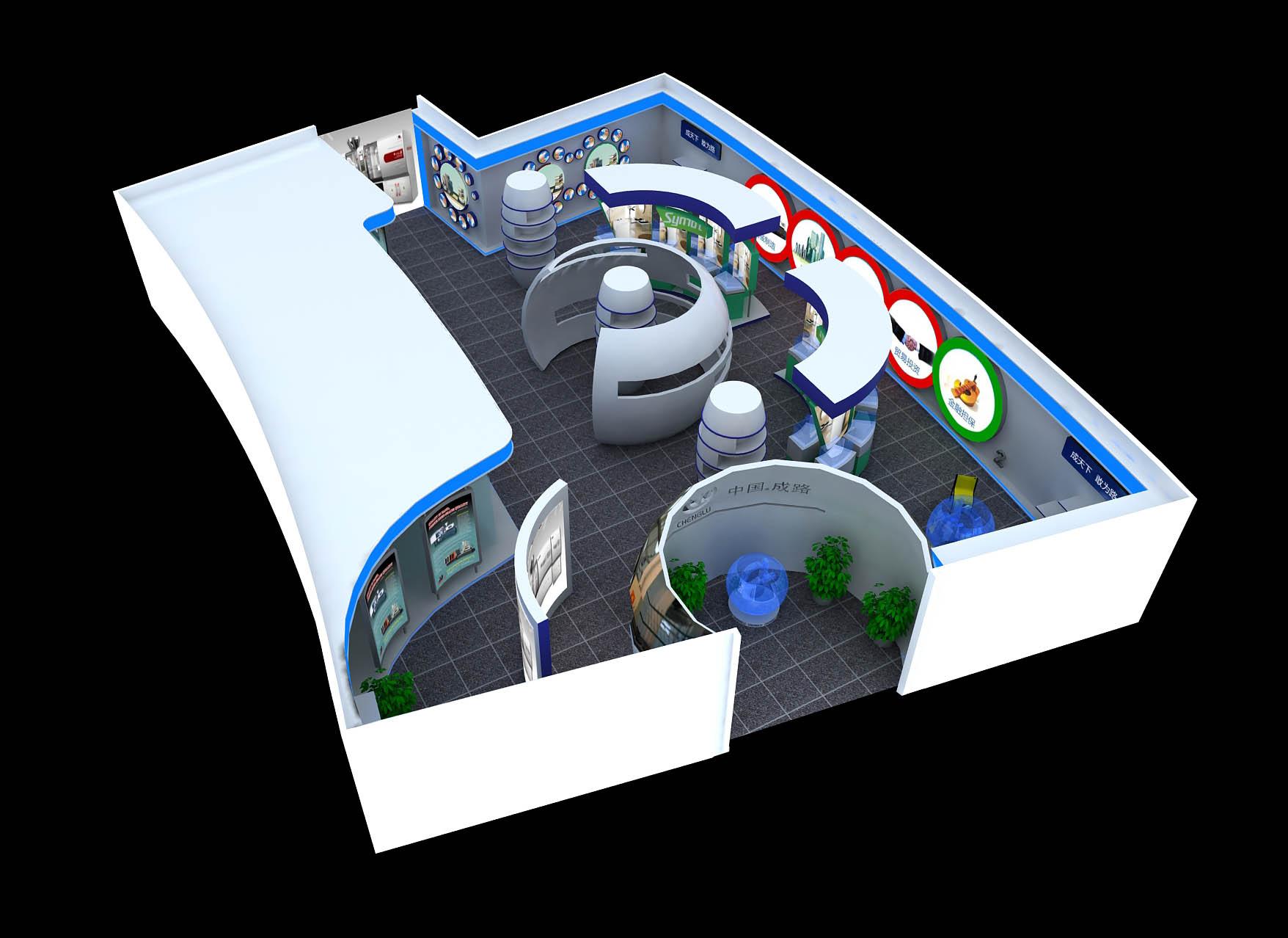宁波展示厅设计图片