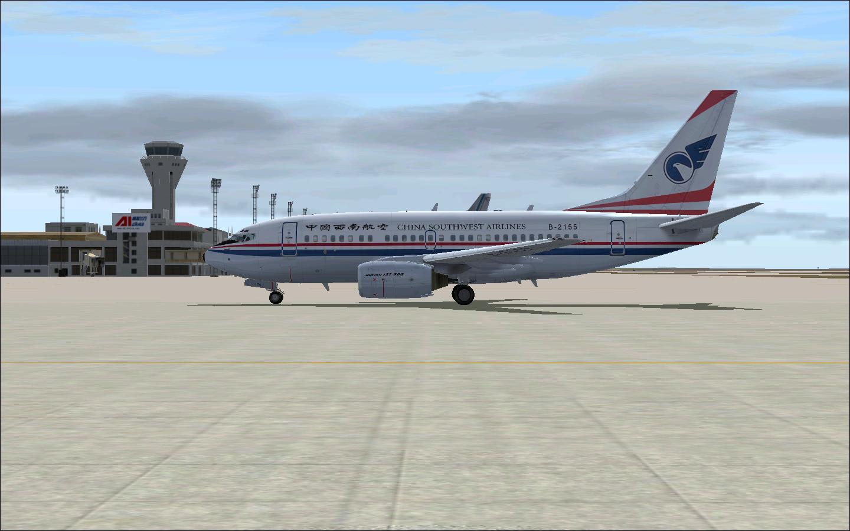 桌面壁纸高清风景; 飞机场图片; 主题:[原创]一些少见的737