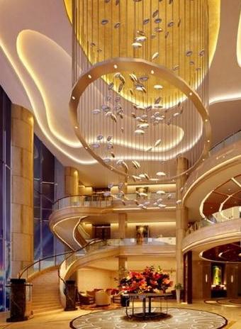 商场大型天花艺术吊饰小配件