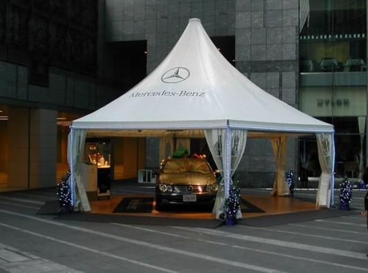 供应江苏南京广告帐篷促销帐篷活动篷房婚庆篷房安全图片