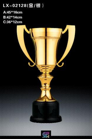 金属奖杯 体育比赛奖杯 人物造型奖杯设计与制作