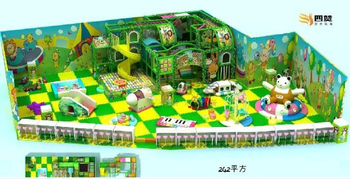 室内儿童游乐场投资主题室内游乐园