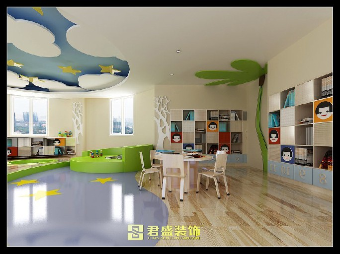 (泉州)晋江君盛装饰幼儿园装修