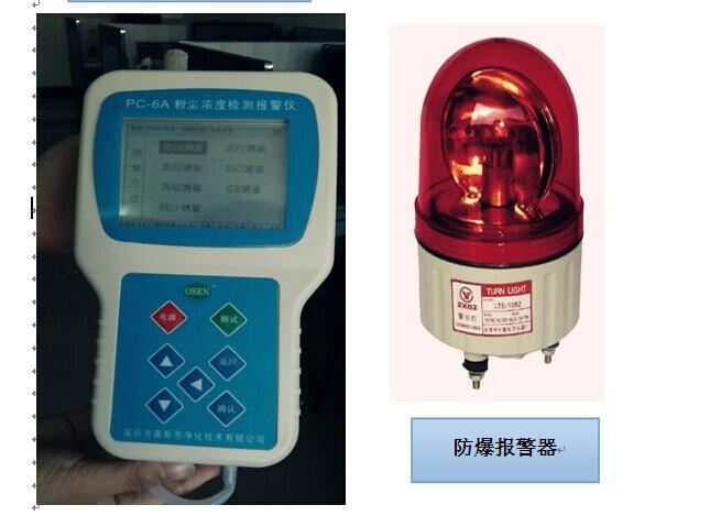 供应PC-6A粉尘浓度报警实时检测仪