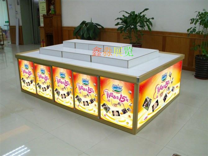 番禺超市特色堆头货柜,常德商场促销活动摆放台,西安图片