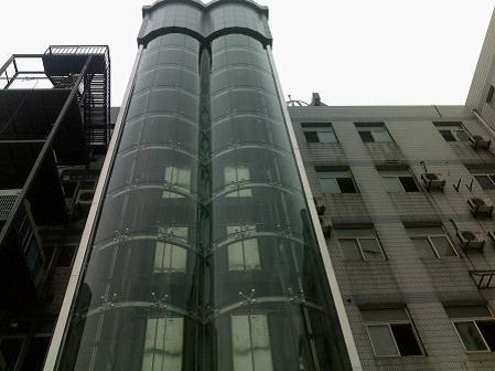 观光电梯钢结构玻璃