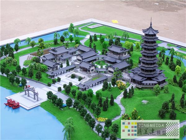 山东风景园林 景区规划模型制作 济南精美达模型公司