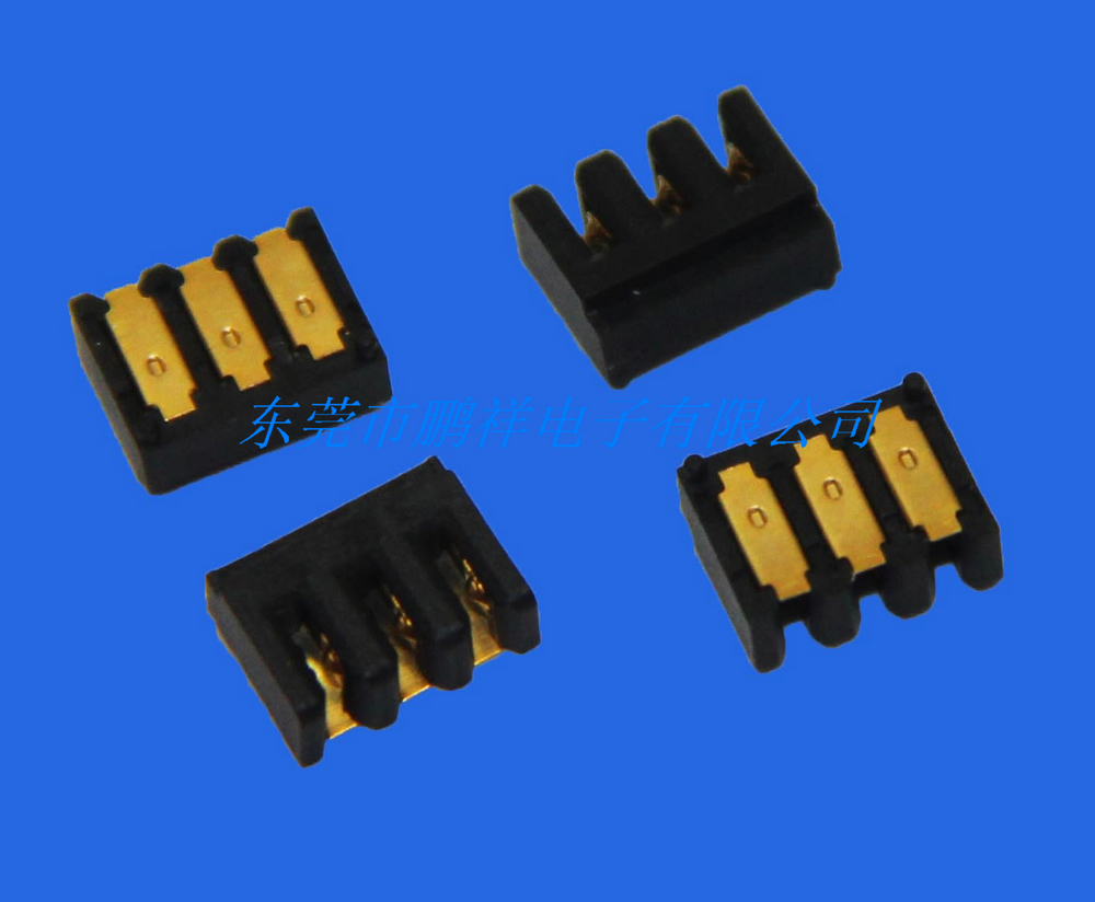 3pin锂电池座图片