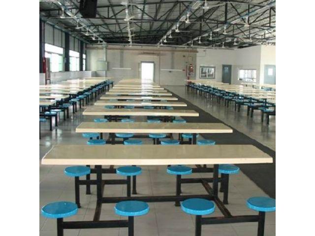 天津餐桌椅食堂餐桌椅厂报价图片