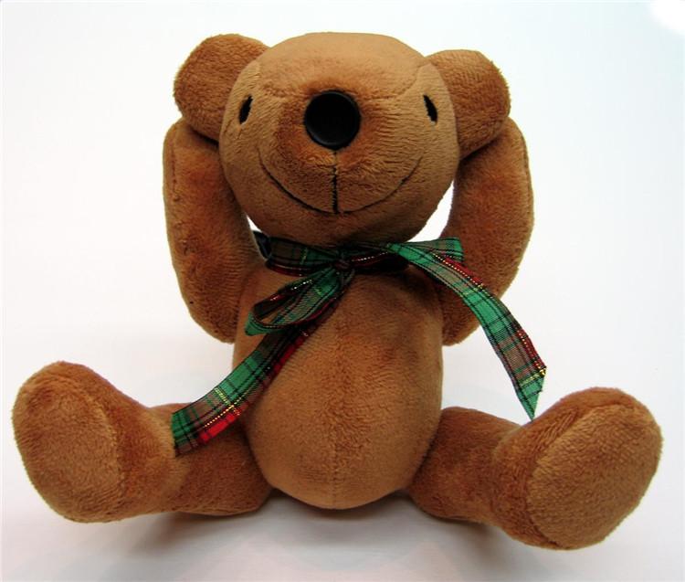 毛绒玩具厂去图定制打样 毛绒公仔礼物加工定做设想 加印公司LOGO