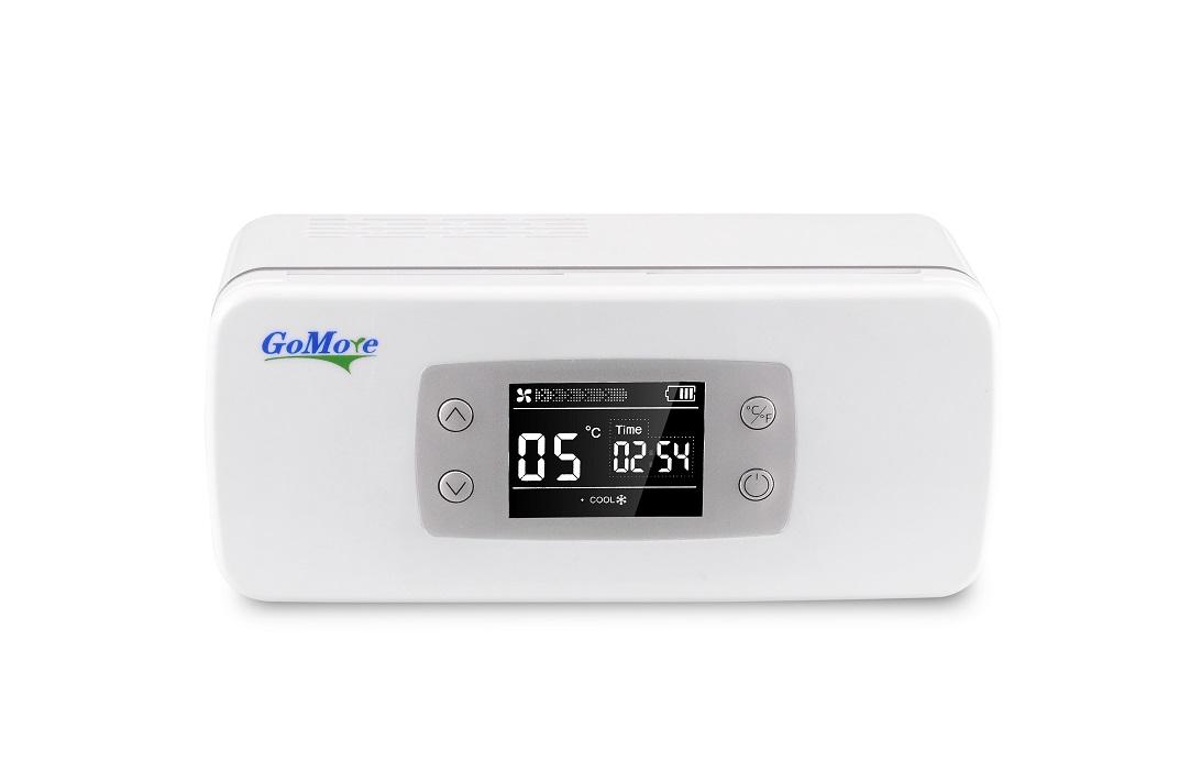 广陌便携式胰岛素冷藏盒,充电迷你小冰箱,超级恒温2-8