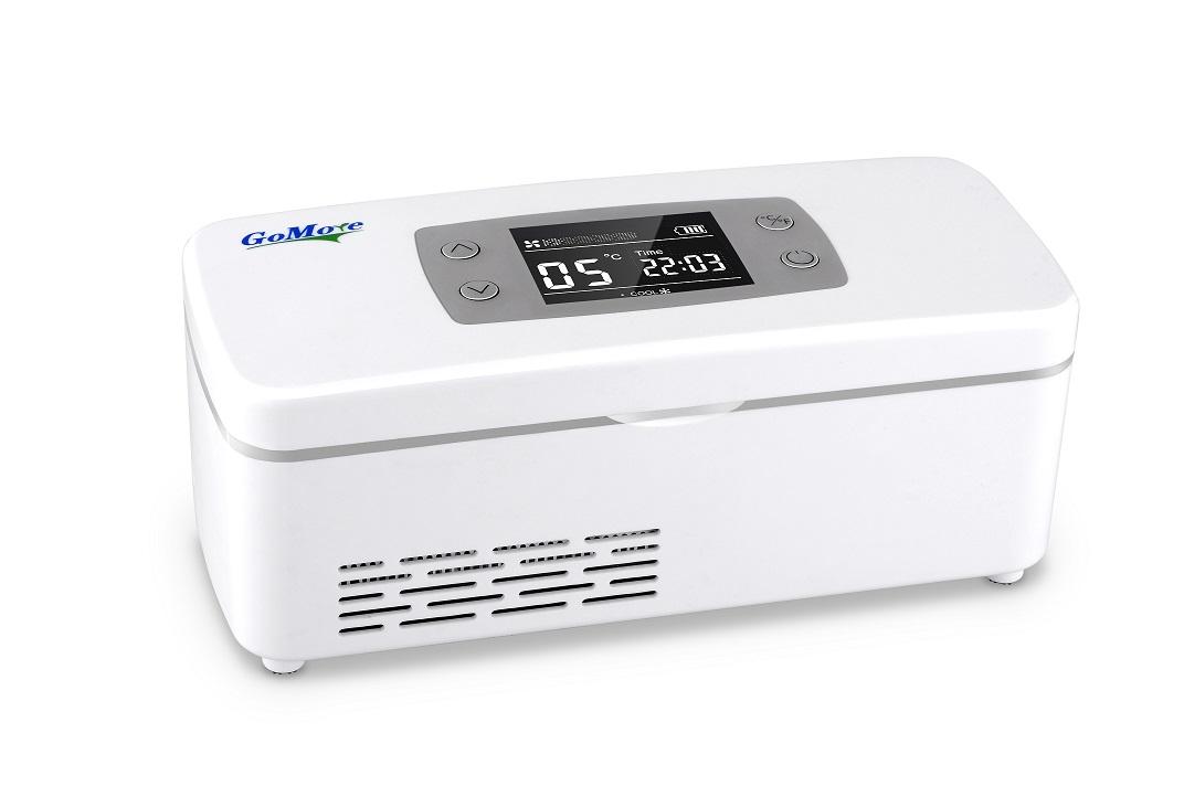 车载冰箱  搜索关键字:  便携式胰岛素冷藏盒充电迷你小冰箱冷热双控图片