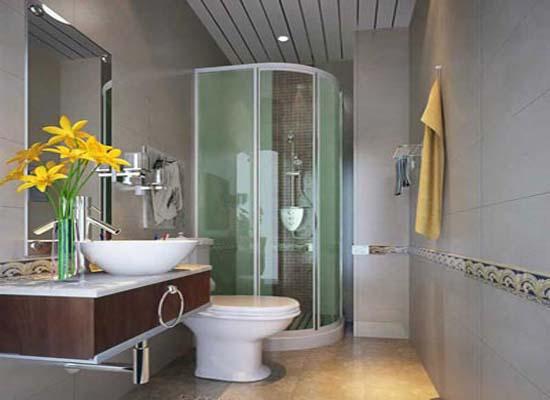 小洗手间如何装修 且看洗手间效果图-一号家居-小洗手