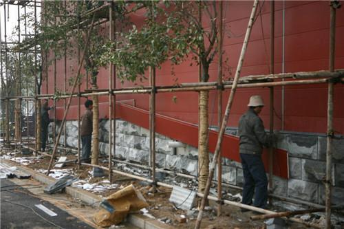 河南外墙装饰板,外墙装饰雕花板,金属雕花板安装