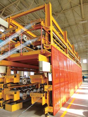 钢丝绳 输送带 生产线