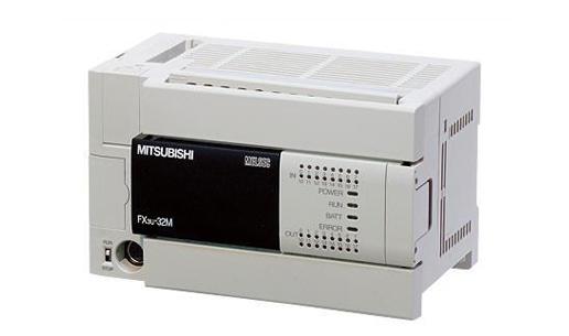 一.介绍FX3U(FX3U-16MT/ES-A)主机型号:   FX3U-16MT-ES/A 8输入/8晶体管输出(AC电源)   FX3U-16MR-ES/A 8输入/8 继电器输出(AC电源)   FX3U-32MT-ES/A 16输入/16晶体管输出(AC电源)   FX3U-32MR-ES/A 16输入/16 继电器输出(AC电源)   FX3U-48MT-ES/A 24输入/24晶体管输出(AC电源)   FX3U-48MR-ES/A 24输入/24 继电器输出(AC电源)   FX3U-64