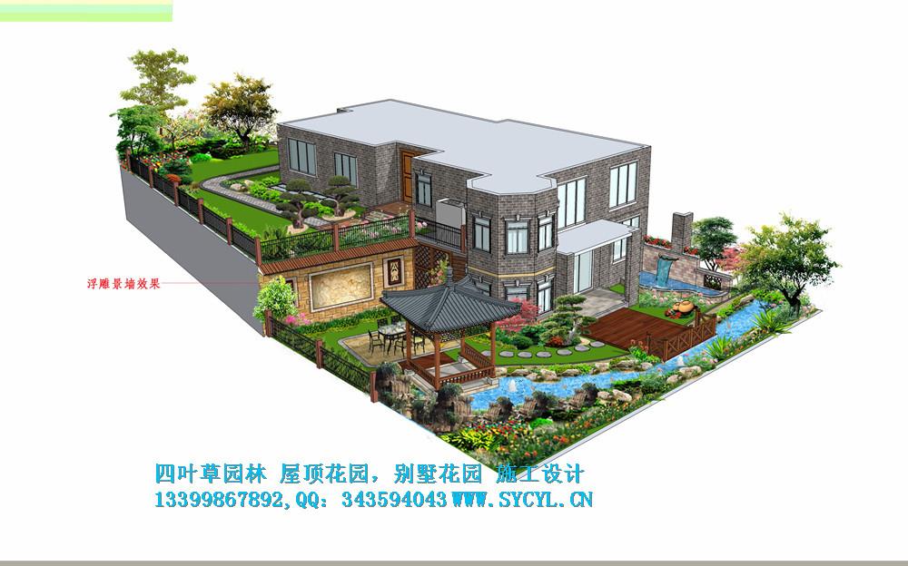 重庆别墅花园装饰设计中式,美式别墅花园,重庆别墅花园,屋顶花园,私家图片