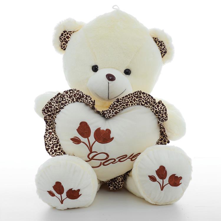 毛绒玩具衣服熊 泰迪熊供给 宏源厂家定制 毛绒玩具厂