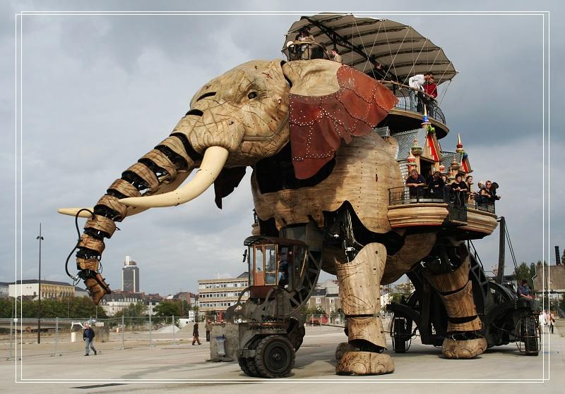 合肥机械大象展览租赁,巡街游览观光道具机械大象出租
