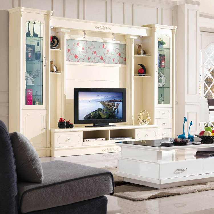 厂家热销 组合电视柜 影视墙 背景墙 酒柜 地中海 加州阳光 6851