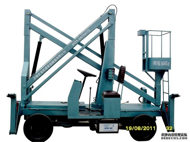 山东柴油机曲臂式液压升降机价格图片