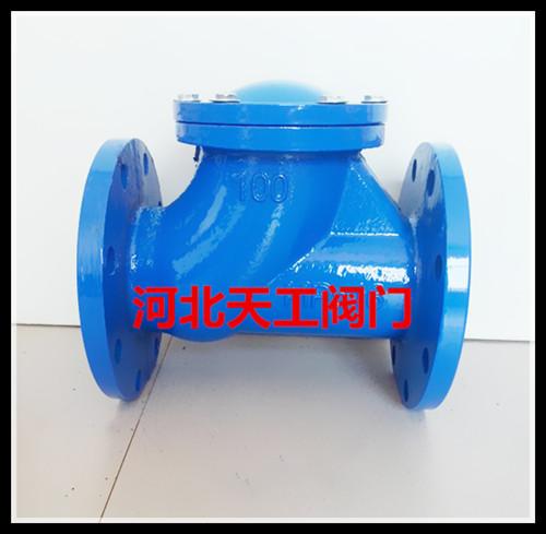 球型止回阀hq41x无磨损优质阀图片