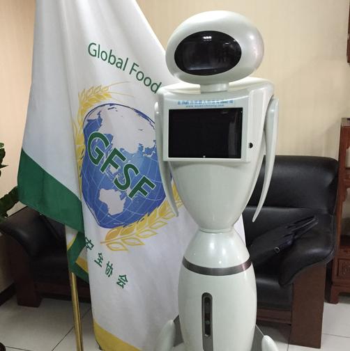 智能迎宾机器人-eva伊娃机器人