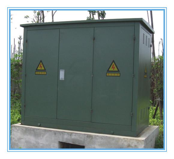 上海 主营产品:充气柜,固体柜,电缆分支箱,箱式变电站,高压开关柜图片