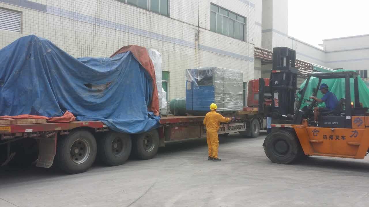 珠海前山工业园工厂搬迁|设备出口包装