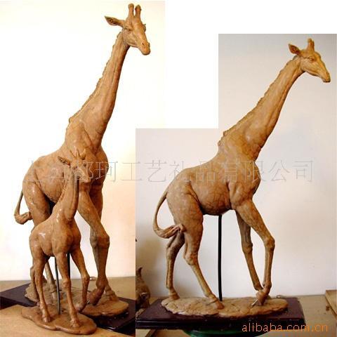 江西泥塑人形雕像 动物雕塑订购