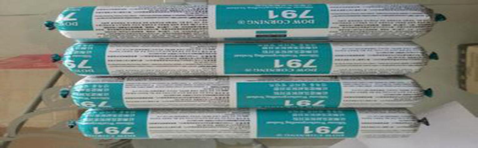 道康寧791硅膠 硅酮建筑耐候密封膠 建筑膠 500ml 韓國